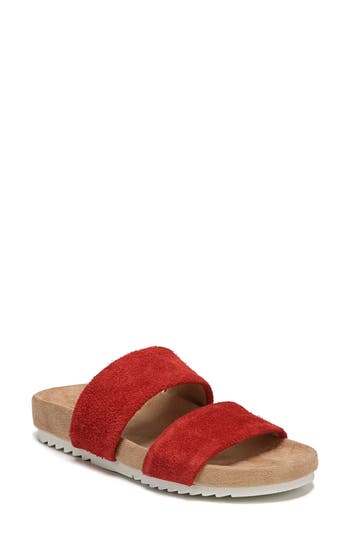Women's Naturalizer Amabella Slide Sandal, Size 9 M - Red