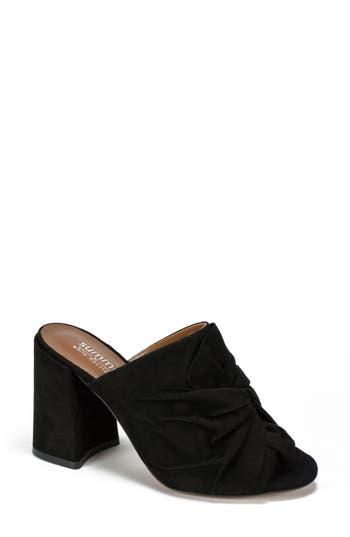 Summit Anya Block Heel Mule, Black