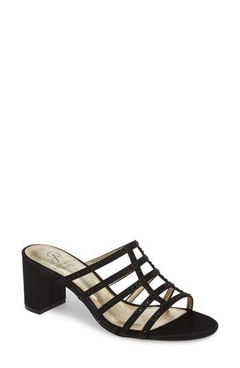 Adrianna Papell Apollo Block Heel Sandal, Black