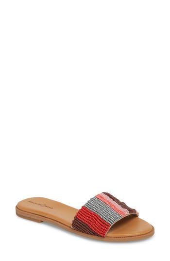 Women's Treasure & Bond Mere Flat Slide Sandal, Size 6.5 M - Pink