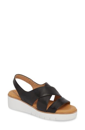 Cc Corso Como Brinney Wedge Sandal, Black