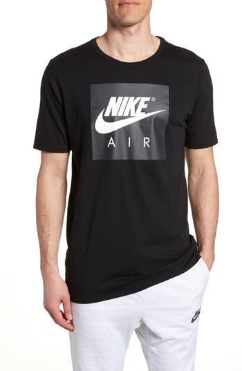 Nike Air Graphic T-Shirt, Black