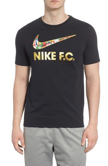 Nike F.c. Swoosh Flag Graphic T-Shirt