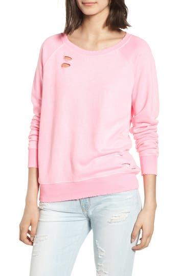 N:philanthropy Belize Deconstructed Sweatshirt, Pink