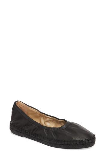Etienne Aigner Fiji Espadrille Ballet Flat, Black