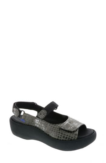 Women's Wolky Jewel Sport Sandal, Size 8.5-9US / 40EU - Grey