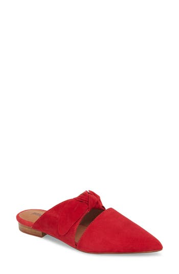 Jeffrey Campbell Charlin Bow Mule, Red