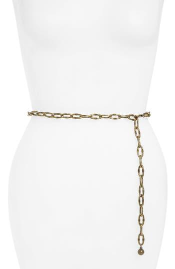 Lovestrength Chain Belt, Size One Size - Brass