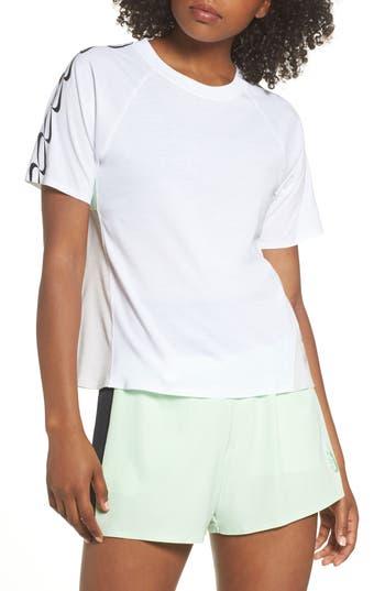 Nike Nrg Dri-Fit Short Sleeve Top, White