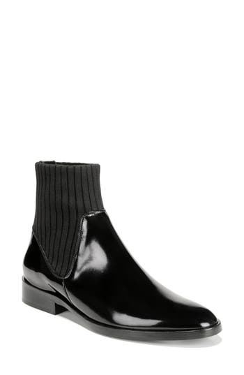 Vince Perlow Sock Bootie, Black