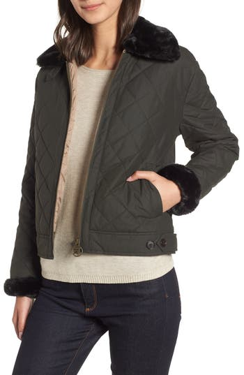 Barbour Tetbury Quilted Jacket, US / 8 UK - Green