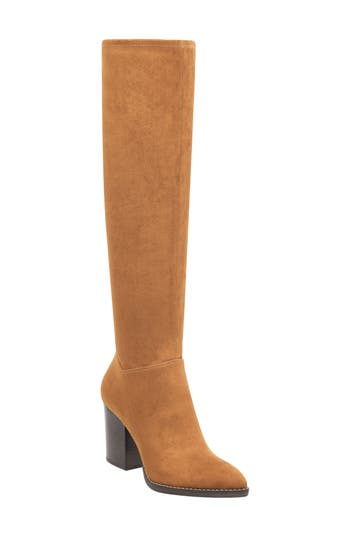 Marc Fisher Ltd Anata Knee High Boot, Brown