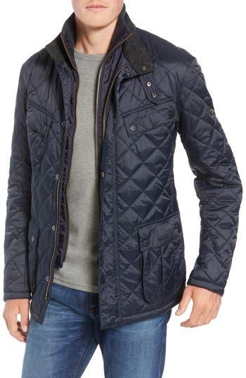 Barbour International Windshield Quilted Jacket, Blue