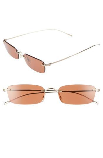Oliver Peoples Daveigh 5m Rectangular Sunglasses -