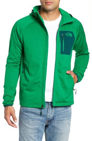 The North Face Borod Zip Fleece Jacket, Green