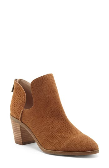 Lucky Brand Powe Bootie, Brown