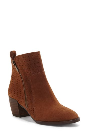 Lucky Brand Lashiya Bootie, Brown