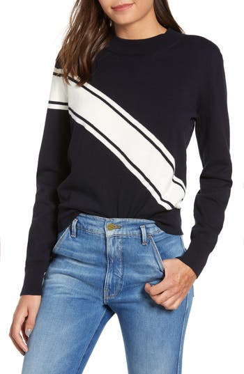 The Fifth Label STRIPE KNIT SWEATER