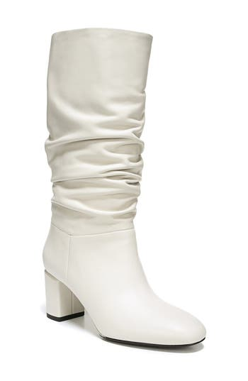 Via Spiga V-Naren Slouchy Boot, White