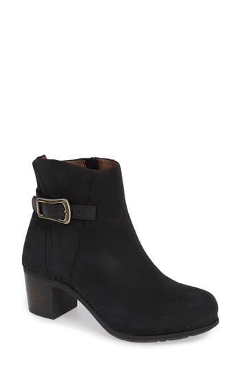 Dansko Hartley Bootie-6- Black