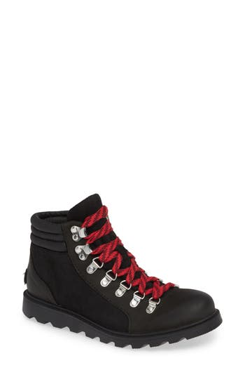 Sorel Ainsley Conquest Waterproof Boot, Black
