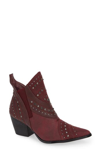 Coconuts By Matisse Storm Western Bootie, Burgundy
