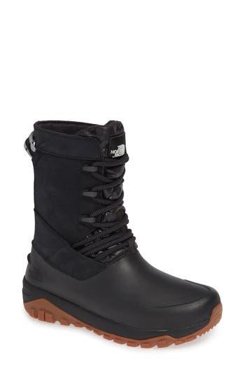 The North Face Yukiona Waterproof Winter Boot- Black