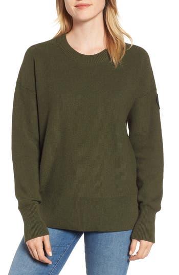 Canada Goose Aleza Merino Wool Sweater, (2-4) - Green
