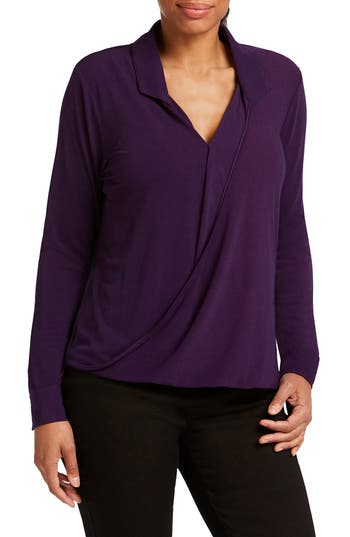 Foxcroft STRETCH CREPE BLOUSE