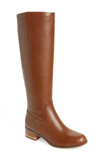 Michael Michael Kors Walker Knee High Boot- Brown