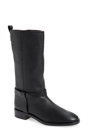 Stuart Weitzman Casey Harness Boot, Black