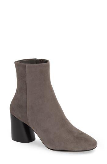 Linea Paolo Savvy Block Heel Bootie, Grey
