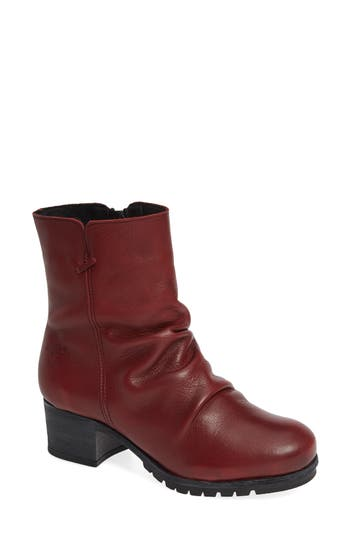 Bos. & Co. Madrid Waterproof Insulated Bootie - Red
