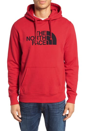 The North Face Holiday Half Dome Hooded Pullover, Red
