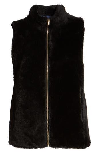 Factory Plush Fleece Excursion Vest, Black