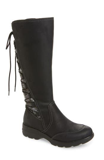 Bionica Epping Waterproof Knee High Boot, Black