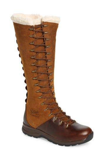 Woolrich Crazy Rockies Iii Lace-Up Knee High Boot- Brown