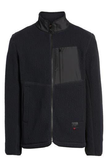Herschel Supply Co. Tech Fleece Jacket, Black