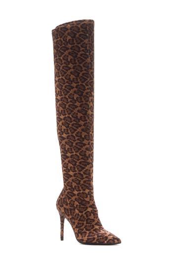 Jessica Simpson Laken Over The Knee Boot, Beige
