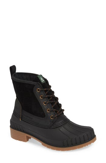 Kamik Sienna Waterproof Duck Boot, Black