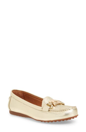 48432a95170f Kate Spade Carson Loafer In Gold Metallic