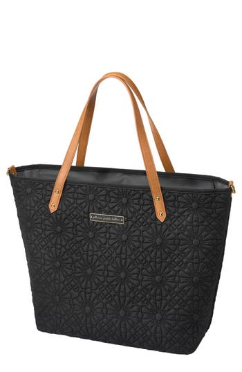 Infant Petunia Pickle Bottom 'Downtown' Floral Embossed Diaper Tote -