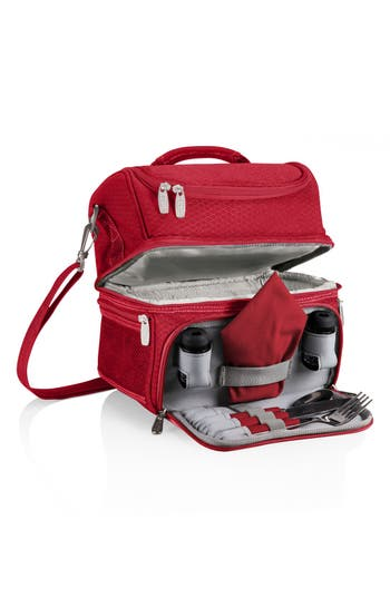 Picnic Time Pranzo Insulated Lunch Tote, Size One Size - Red