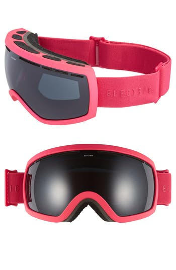 Women's Electric Eg 2.5 215Mm Snow Goggles - Solid Berry/ Jet Black