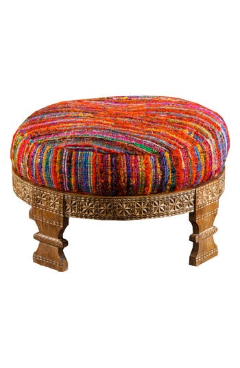 Surya Home Ottoman, Size One Size - Red