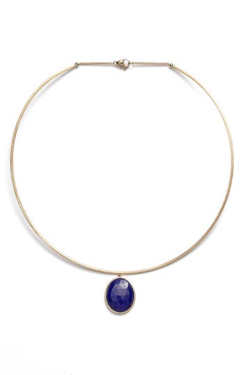 Women's Marco Bicego 'Lunaria' Lapis Collar Necklace