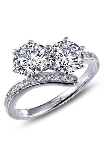 Women's Lafonn 'Lassaire' Two Stone Ring