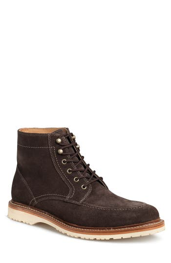 Men's Trask 'Andrew Mid' Apron Toe Boot