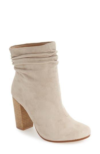 Kristin Cavallari Georgie Block Heel Boot- Grey