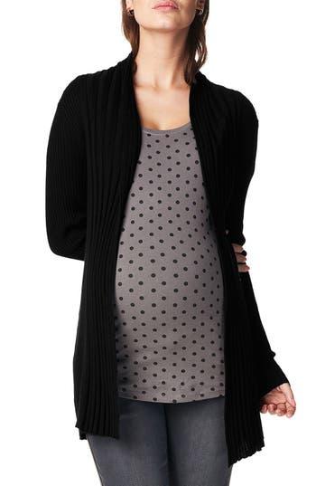 Women's Noppies 'Anne' Rib Knit Maternity Cardigan